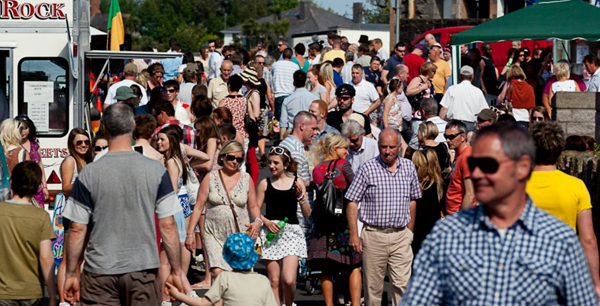 Carlingford Oyster Festival Crowds