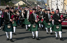 The Carlingford Pipe Band Festival