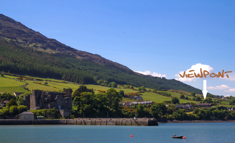 Carlingford Viewpoint We are Here - Copy