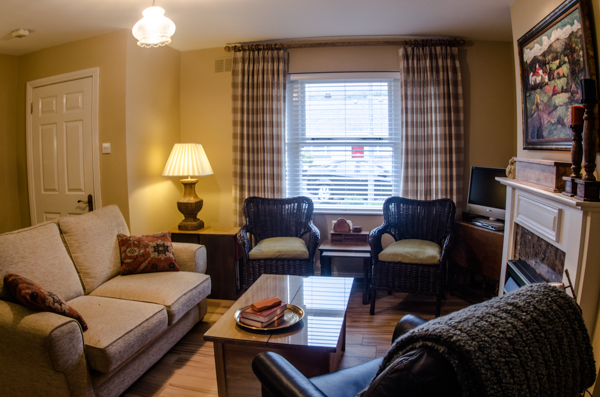 Self Catering Accommodation Carlingford Comfortable Living Room